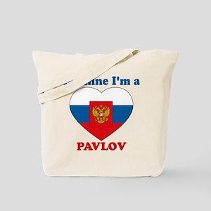 Pavlov, Valentine's Day Tote Bag