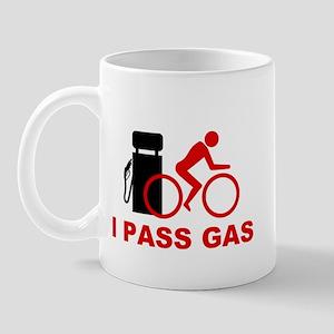 I Pass Gas Bicyclist Mug