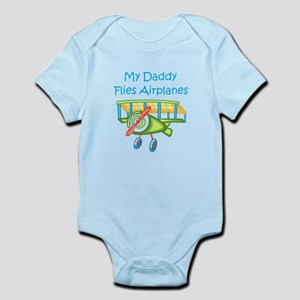 DADDY FLIES AIRPLANES Body Suit