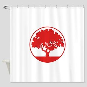 FRAMED TREE Shower Curtain