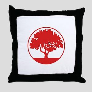 FRAMED TREE Throw Pillow