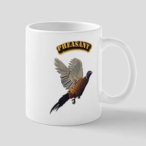 Pheasant with Text Mug