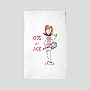 KISS MY ACE Area Rug