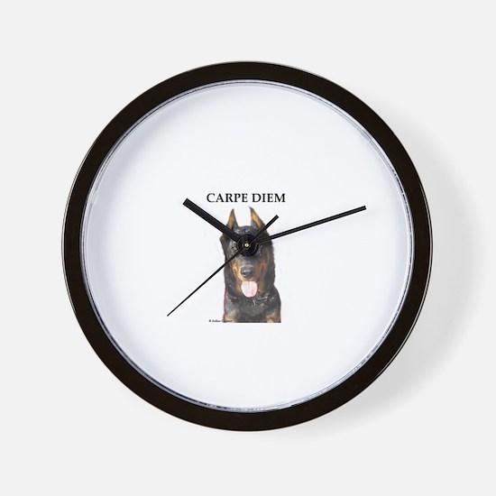 Beauceron Wall Clock