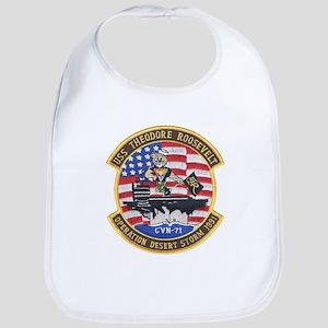 USS Roosevelt Desert Storm Bib