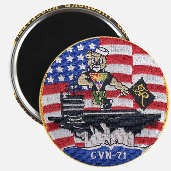 USS Roosevelt Desert Storm Magnet