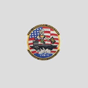 USS Roosevelt Desert Storm Mini Button