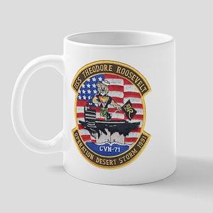 USS Roosevelt Desert Storm Mug