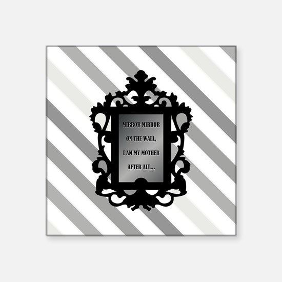 """Cute Mother to daughter quotes Square Sticker 3"""" x 3"""""""