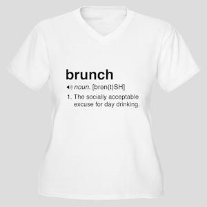 Brunch definition Plus Size T-Shirt