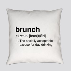 Brunch definition Everyday Pillow