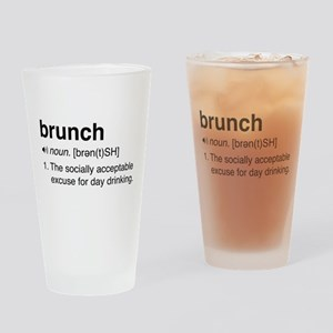 Brunch definition Drinking Glass