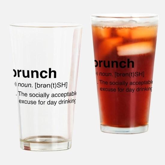 Brunch definition Drinking Glass