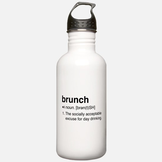 Brunch definition Water Bottle
