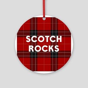 SCOTCH ROCKS Ornament (Round)