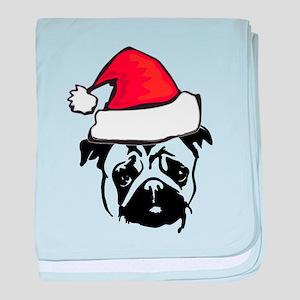 christmas dog baby blanket