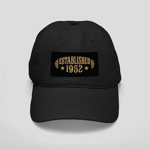 Established 1952 Black Cap