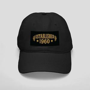 Established 1960 Black Cap