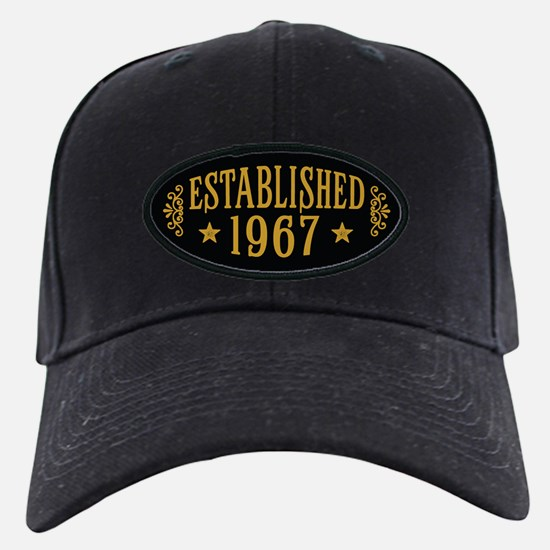 Established 1967 Baseball Hat
