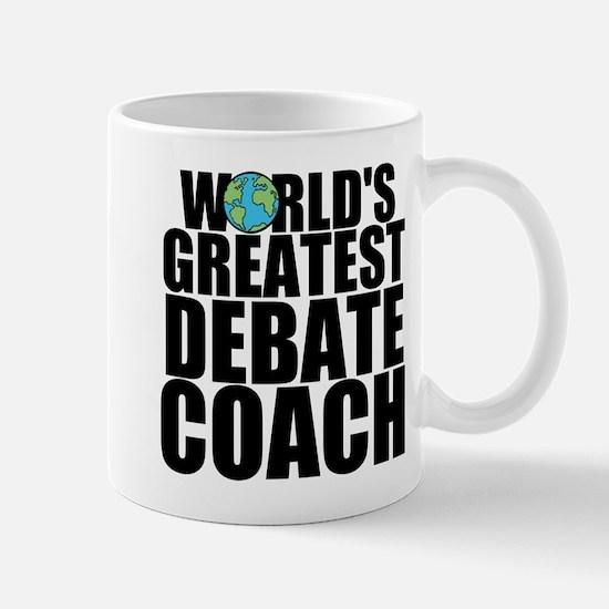 World's Greatest Debate Coach Mugs