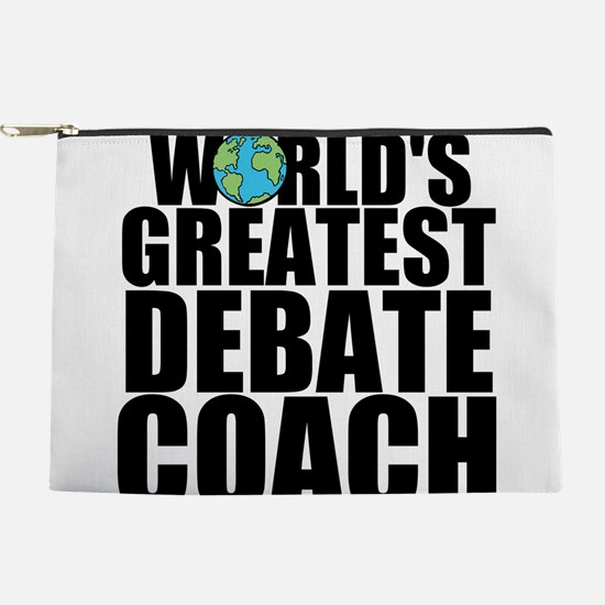 World's Greatest Debate Coach Makeup Pouch