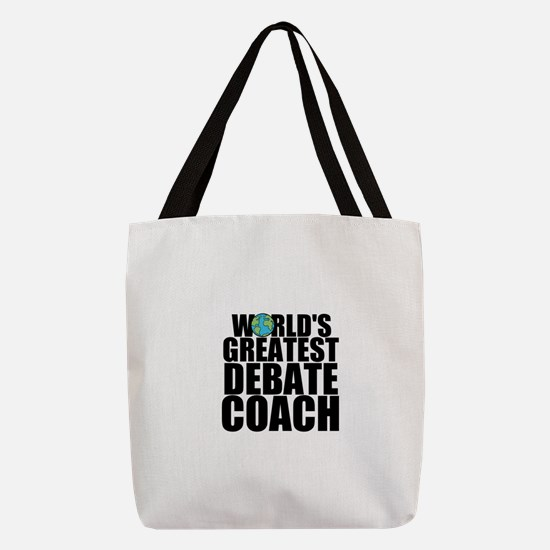 World's Greatest Debate Coach Polyester Tote B