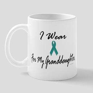 I Wear Teal For My Granddaughter 1 Mug