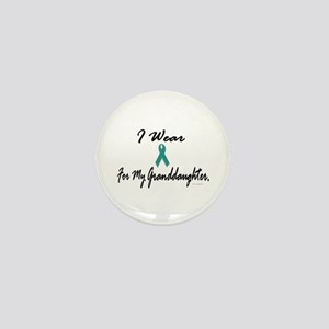 I Wear Teal For My Granddaughter 1 Mini Button