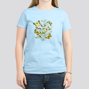 French Butterflies Women's Light T-Shirt