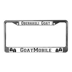 Oberhasli Goat License Plate Frame