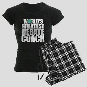 World's Greatest Debate Coach Pajamas