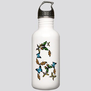 Colorful Butterflies Stainless Water Bottle 1.0L