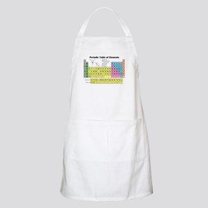 Periodic Table of Elements BBQ Apron
