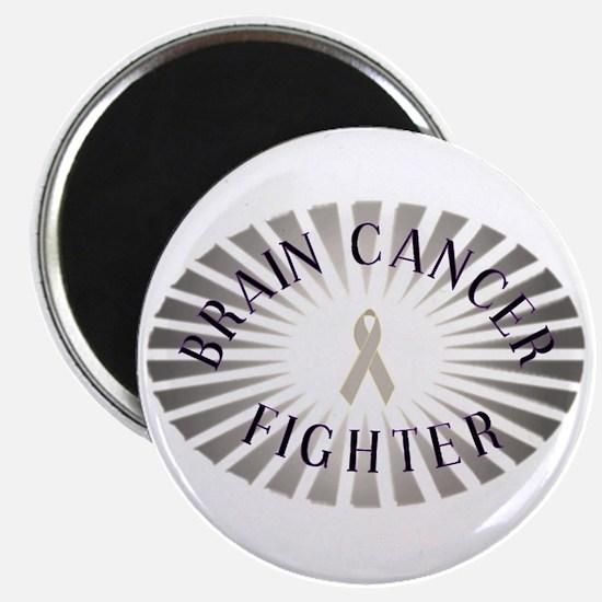 "BRAIN CANCER FIGHTER 2.25"" Magnet (100 pack)"