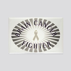 BRAIN CANCER FIGHTER Rectangle Magnet