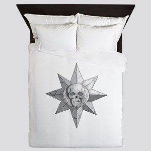 Skulls and Sun Queen Duvet