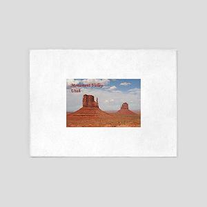 Monument Valley, Utah, USA (caption 5'x7'Area Rug