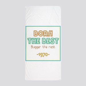Born the Best 1970 Beach Towel