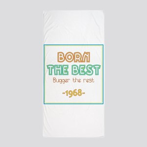 Born the Best 1968 Beach Towel