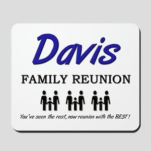 Davis Family Reunion Mousepad