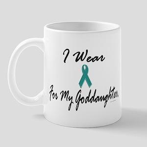 I Wear Teal For My Goddaughter 1 Mug