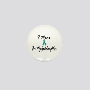 I Wear Teal For My Goddaughter 1 Mini Button