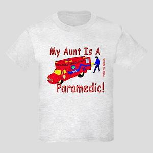 Paramedic Aunt - Kids Light T-Shirt
