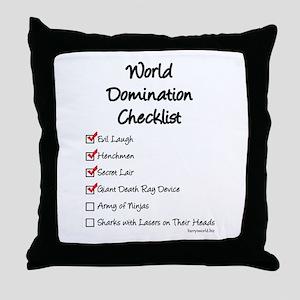 Domination Throw Pillow