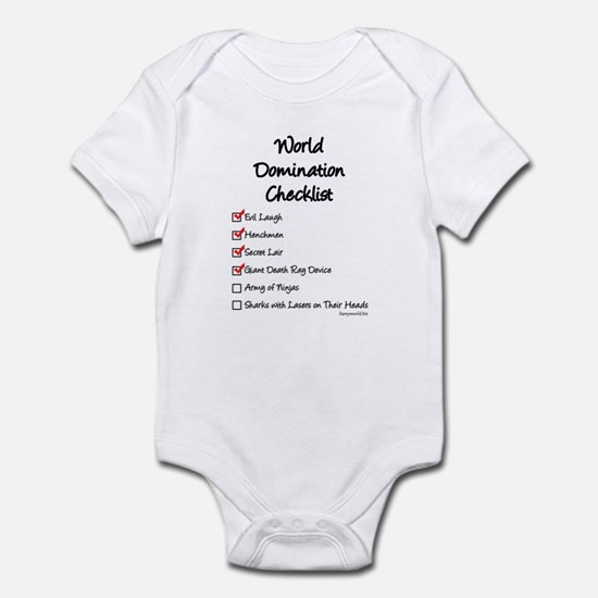 Domination Infant Bodysuit