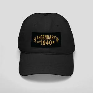 Legendary Since 1940 Black Cap