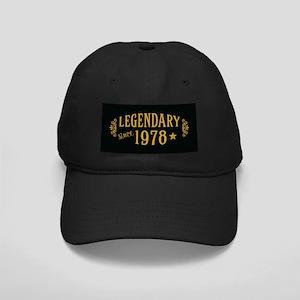 Legendary Since 1978 Black Cap