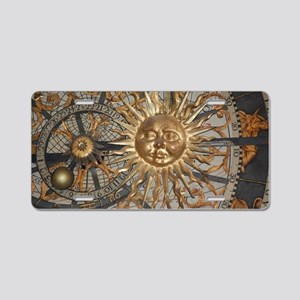 Astrological clockface Aluminum License Plate