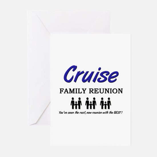 Cruise Family Reunion Greeting Cards (Pk of 10