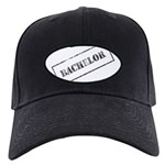 Bachelor Stamp Black Cap